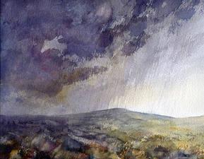 Rain over Piggford moor to Bosley 201731