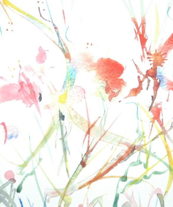 Watercolour, Dancing paintbrush