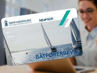 Båtførerprøven kan avlegges på nett, via video-overvåket prøve. Her er alt du må vite.