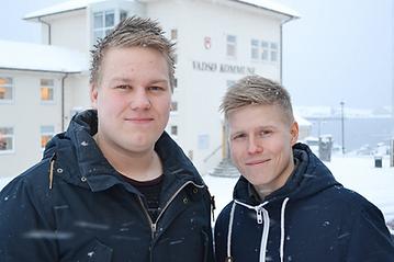 Henrik Hansen og Kristian Aslaksen i Grey Area A