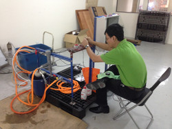 RAPID System in Lab Skid