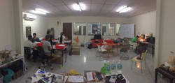 lab working