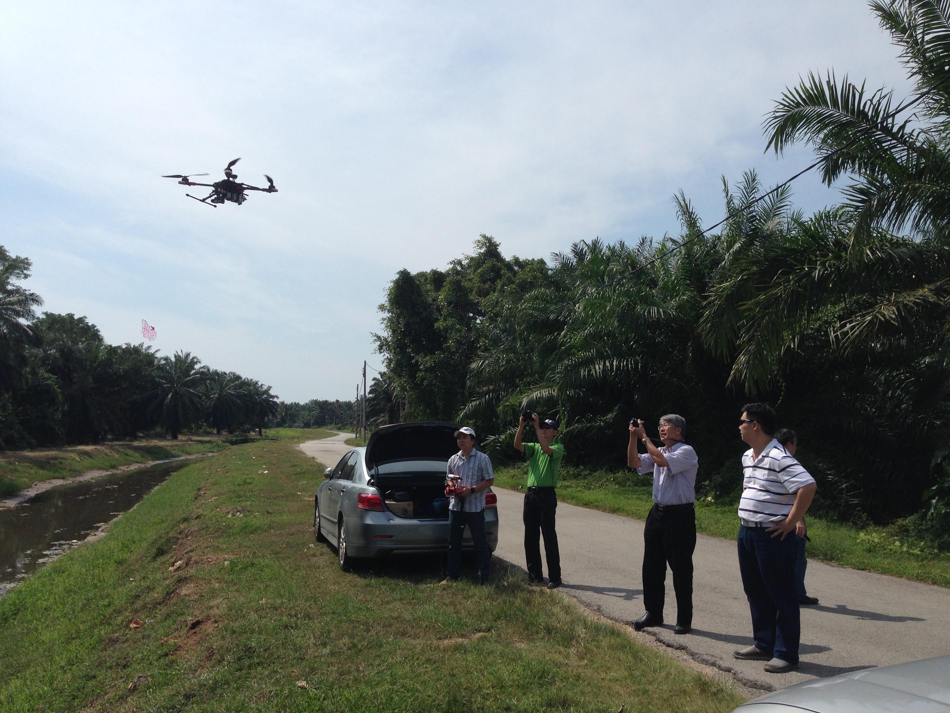 Drone Test Run