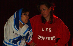 Match d'impro Chelles Vs Marlyle Roy au centre culturl de Chelles le 25 avril 2009