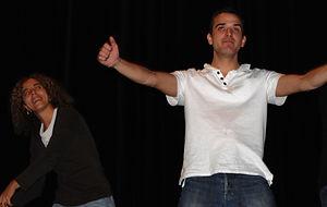 Scène ouverte avec les Impronautes au théâtre Albert Caillou à Chelles le 29 novembre 2008