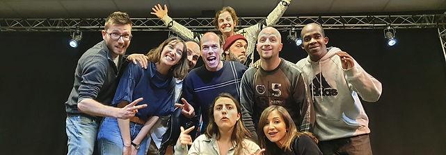 Cours de théâtre d'improvisation pour les adultes au théâtre Albert Caillou à Chelles