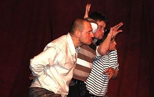 Scène ouverte avec les Impronautes au théâtre Albert Caillou à Chelles le 24 janvier 2009