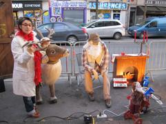 Théâtre de rue à Chelles