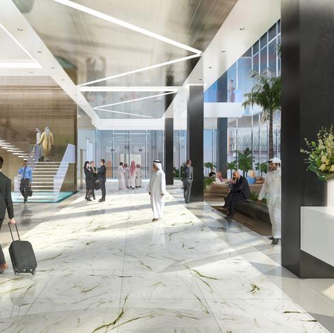 Lobby, Abu Dhabi, 2016