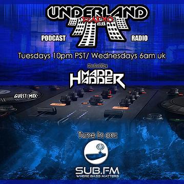 UNDERLAND RADIO Flyer