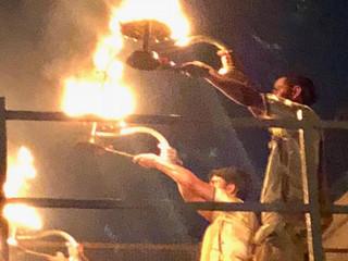 Ceremonial nocturno (Ganga).