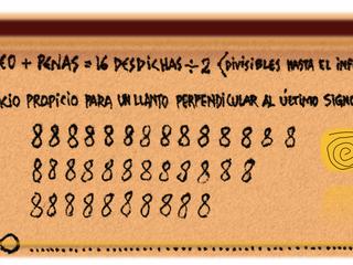 LLUVIA LACRIMÓGENA DE NÚMEROS