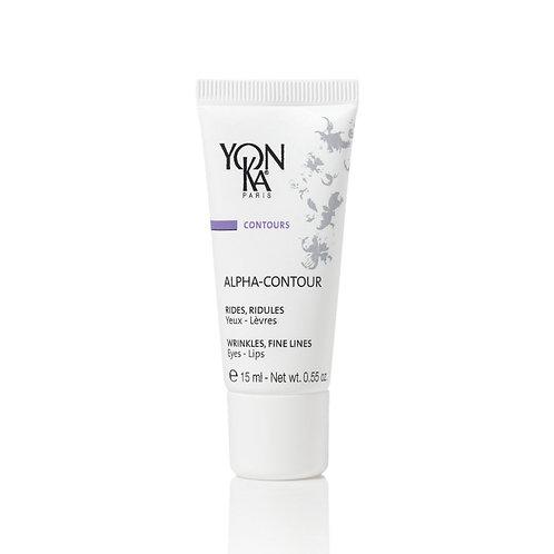 Alpha-Contour YON-KA yeux, lèvres et cou