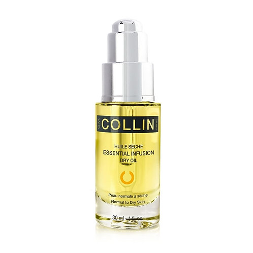 Huile sèche essential infusion G.M. Collin soin du visage sérums et concentrés