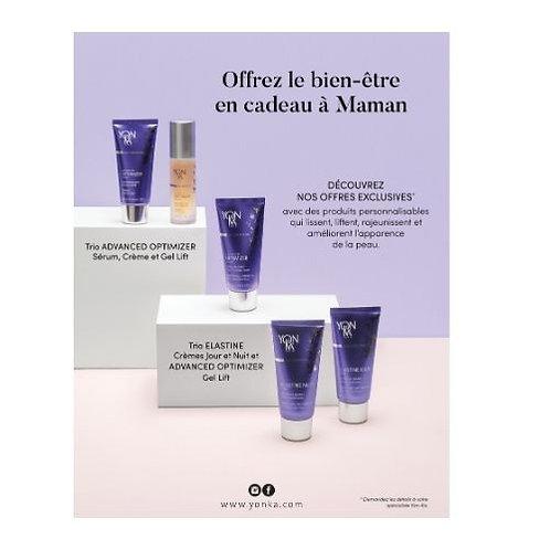 Trio Advanced Optimizer Yon-Ka soin du visage crèmes anti-âge crèmes, gels et fluides yeux, lèvres et cou sérums anti-âge
