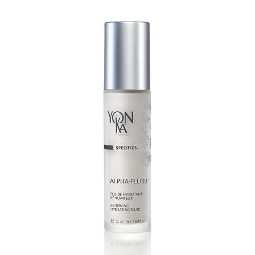 Alpha Fluid Yon-ka soin du visage crèmes, gels et fluides crèmes anti-âge