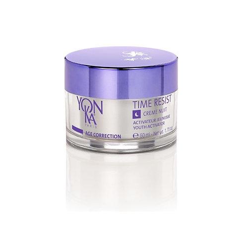 Time Résist nuit YON-KA soin du visage crèmes anti-âges crèmes, gels et fluides