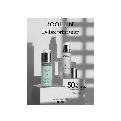 Duo Crème revitalisante marine+ Sérum City-D-Tox G.M. Collin soin du visage Crèmes, Gels et Fluides Sérums et Concentrés