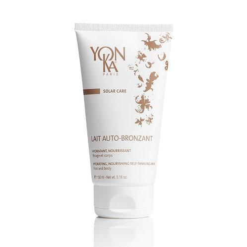Lait auto-bronzant YON-KA soin du visage soin de corps solaire