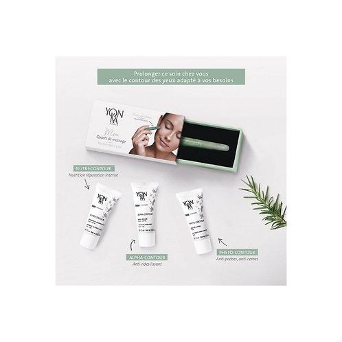 Contour des yeux et Quartz de massage Yon-Ka soin du visage yeux, lèvres et cou