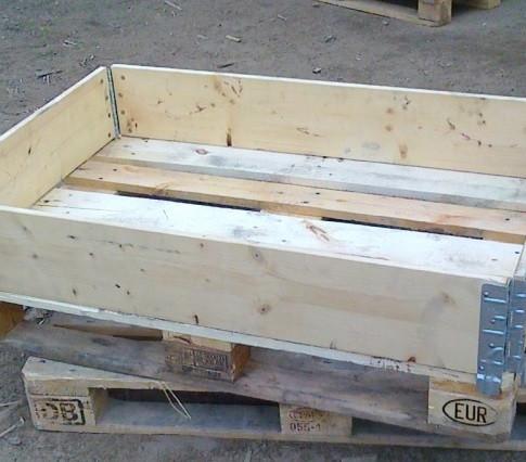 Паллетный борт деревянный