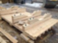 деревянные ящики и поддоны