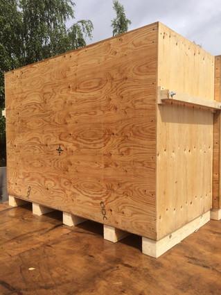 Деревянные ящики для упаковки оборудования