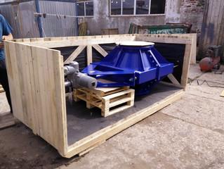 Деревянный ящик для упаковки насосного оборудования