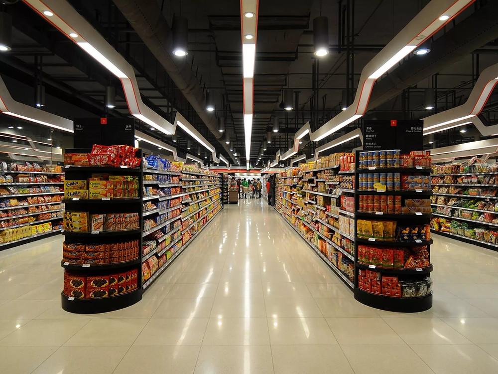 доставка товаров в сетевые магазины