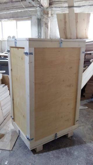 Фанерный ящик с разборными стенками