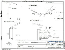 Standing Seam Accessories Page 1 Form