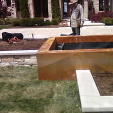 Copper Fountain Base