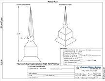 Finial F25 Form