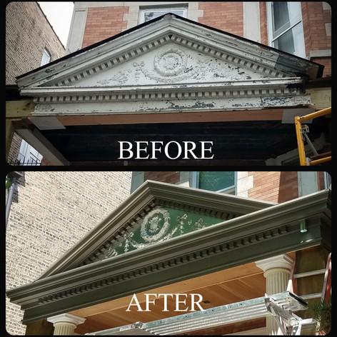 Pediment and Dental Work