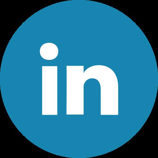 linkedin circle icon