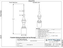 Finial F13 Form