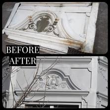 Crown Molding Over Exterior Window