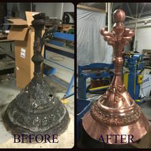 Copper Custom Finial