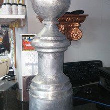 Lead-Coated Copper Finial
