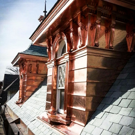 Custom Copper Dormer