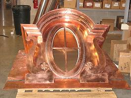 Custom Copper Dormer