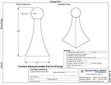 Finial F17 Form