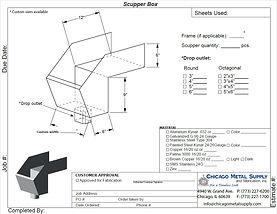 Scupper Box Form