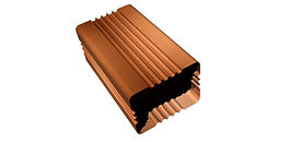 Corrugated Regula Downspouts