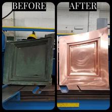 Copper Custom Fabrication Pieces