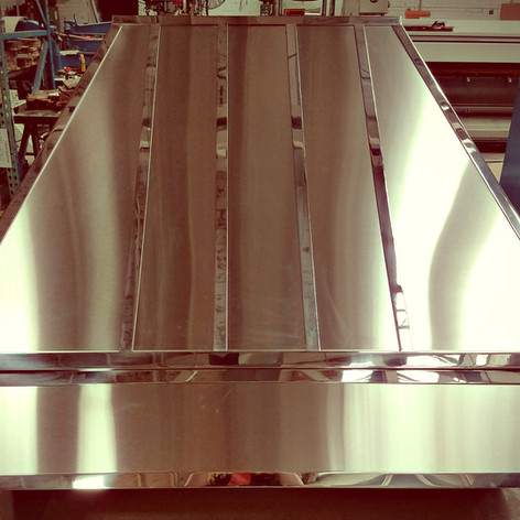 Stainless Steel Range Rood