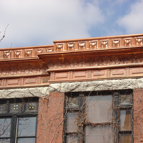 Copper Cornice Work