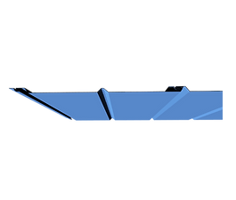 Pencil Rib Soffit