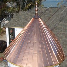 Standing Seam Copper
