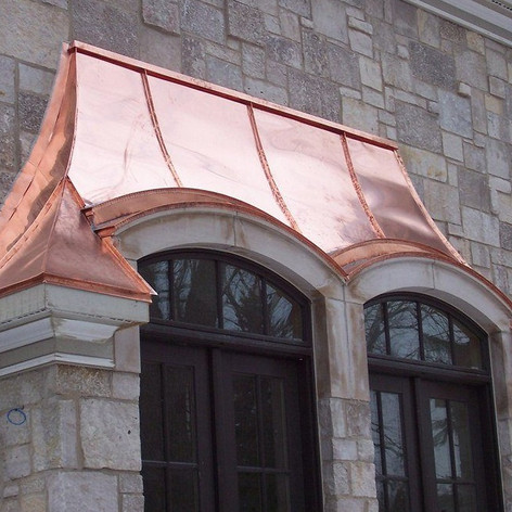 Copper Bay Window Roofing